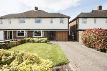 semi detached home to rent in Denton Grove...