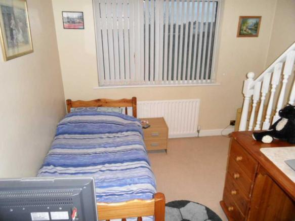 Bedroom two 12'0 (3.66m) x 11'0 (3.35m)