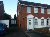 3 bed semi detached property in Abbotts Close, Syston...