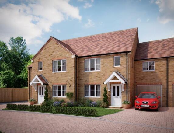 4 bedroom terraced house for sale in plot 9 lancelot gardens pinchington lane newbury rg19 rg19