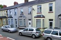 Terraced house in Llantarnam Road, Cwmbran...