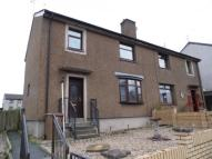 3 bed semi detached property in Burnton Place, Cumnock...
