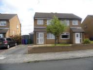semi detached house in Glastonbury Close...