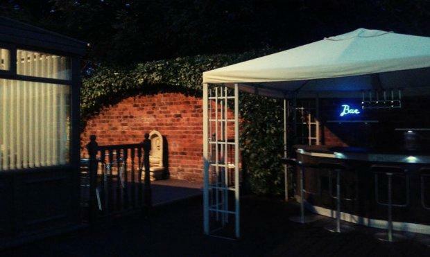 Garden Bar Area...