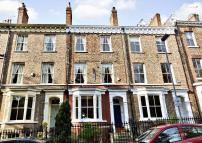 Terraced property in Bootham Terrace, York...