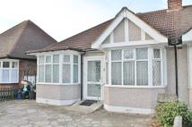 Donington Avenue Semi-Detached Bungalow for sale