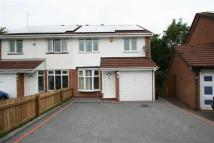 3 bedroom semi detached home for sale in Lyall Gardens, Rubery...