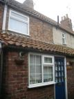 Terraced house in Lambs Row, Boston, PE21