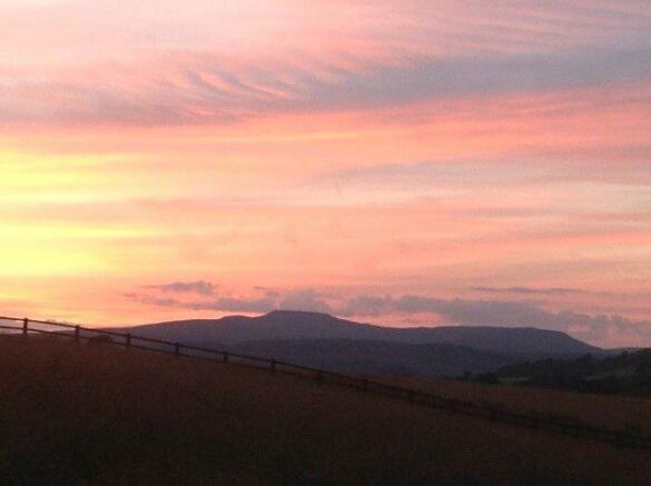 Ingleborough Sunset