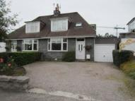 semi detached house in Viewfield Gardens...
