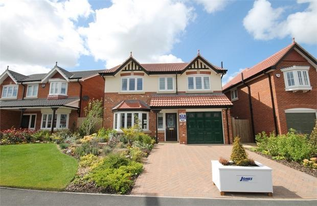 4 bedroom detached house for sale in plot 2 the bedworth jones homes widnes cheshire wa8 Home architecture widnes