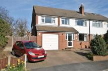 semi detached house in Iver Close, Cronton...