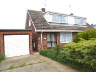 3 bedroom semi detached property for sale in Bewick Close, Snettisham...