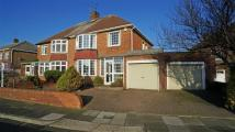 semi detached house for sale in Beach Road, Tynemouth