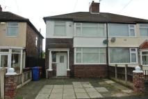 semi detached home in Corwen Crecent