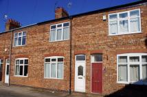Terraced property in Heworth Place, York, UK