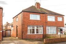 3 bedroom semi detached home in Danum Road, York...