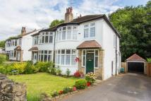 semi detached house in Oakwell Oval, Leeds...