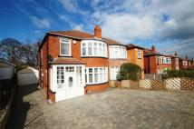 3 bedroom semi detached home for sale in West Park Drive West...