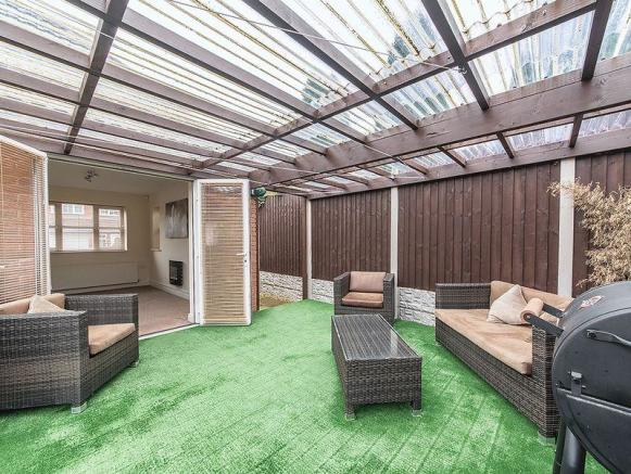COVERED PATIO ...