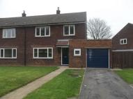 3 bedroom semi detached home to rent in Cranwell Close...