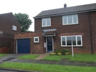 semi detached house to rent in Cranwell Close...