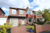 4 bed semi detached property in Northfield Road...