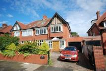 6 bed semi detached house for sale in Gosforth, Montagu Avenue.