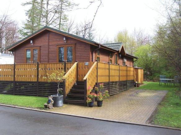 2 Bedroom Log Cabin For Sale In Swarland Percy Wood Leaf