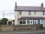 Seahouses semi detached house for sale
