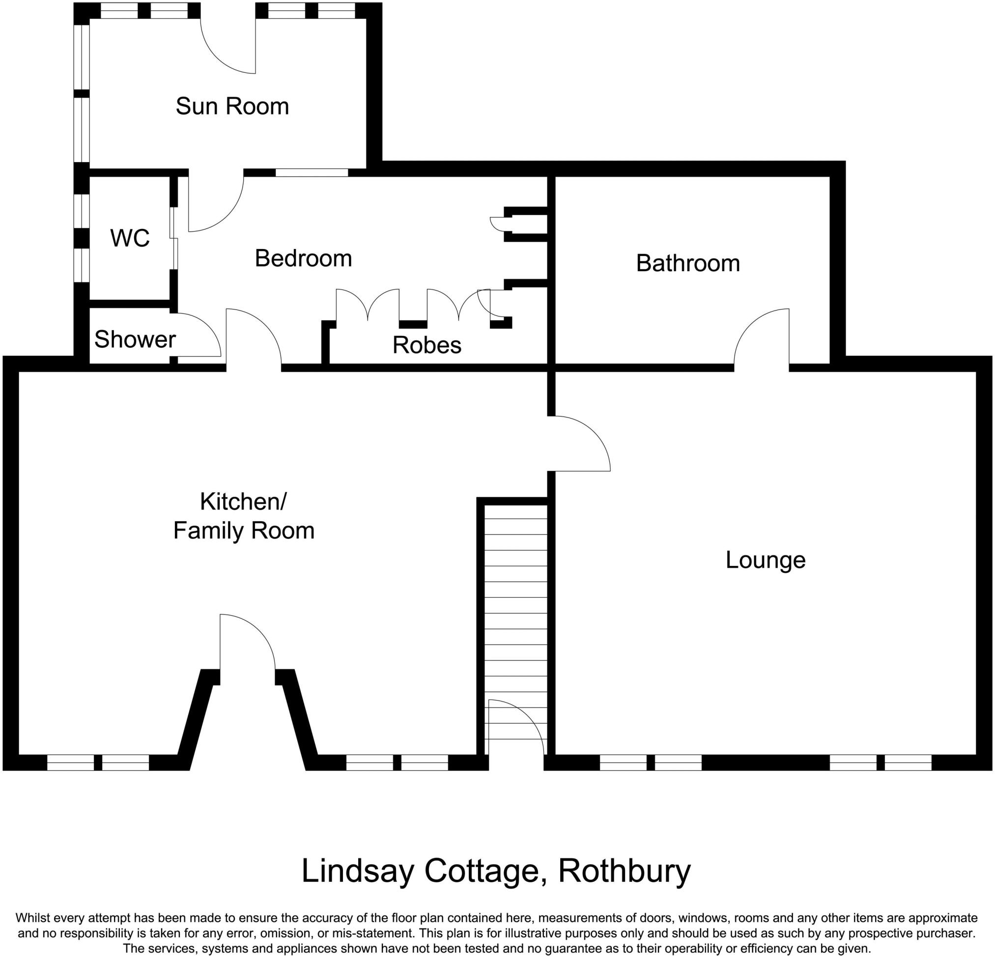6 bedroom detached house for sale in Rothbury Townfoot Lindsay