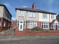 3 bed semi detached home for sale in Winchester Avenue, Blyth