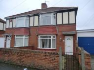 2 bedroom semi detached house to rent in Hodgsons Road, Blyth