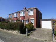 semi detached property in Holderness Road, Wallsend