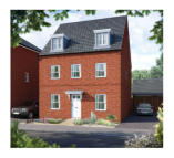 5 bed new house in Houghton Regis...