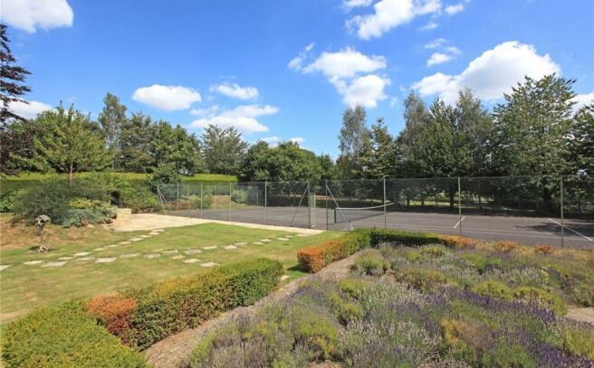 Garden, Tennis Court