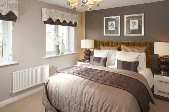 Kingsville master bedroom