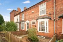 Terraced house in Crabtree Road, Birmingham
