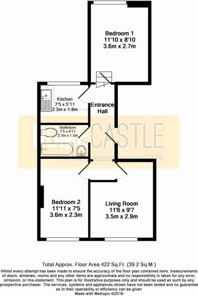 Floor Plan - 92B Hol