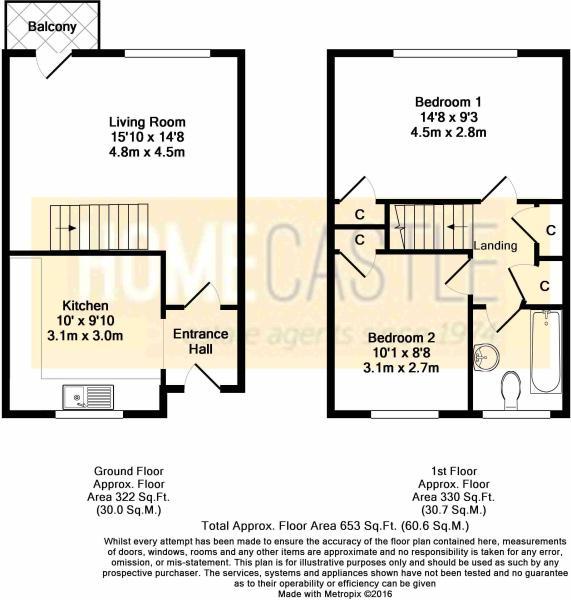 Floor Plan - Flat 12