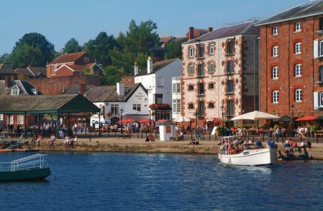 Quayside Exeter