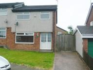 semi detached house in Barnes Avenue, Bridgend...