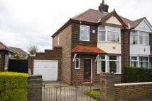 3 bedroom semi detached home for sale in Glebe Avenue, Grappenhall