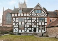 semi detached property for sale in Church Walk, Ludlow...