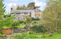 Detached home for sale in Hyssington, Montgomery...
