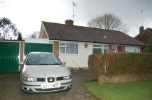 2 bed Detached Bungalow in Little Copse Road,