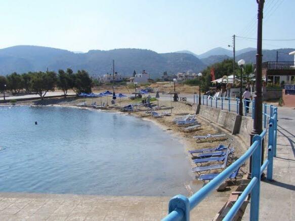 Milatos beach