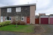 semi detached house in Albion Place, Cannock...