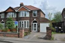 3 bed semi detached house to rent in Moss Vale Road, Urmston...