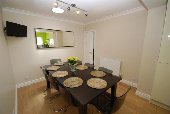 dining area of